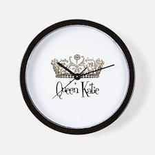 Queen Katie Wall Clock