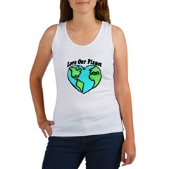 Love Our Planet Women's Tank Top