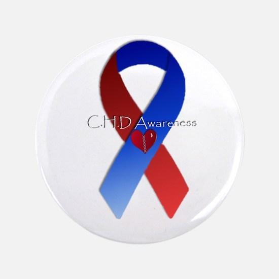 """CHD awareness 3.5"""" Button"""