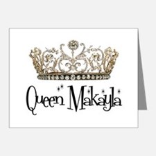 Queen Makayla Note Cards (Pk of 10)