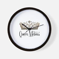 Queen Melissa Wall Clock