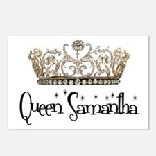 Queen Samantha Postcards (Package of 8)