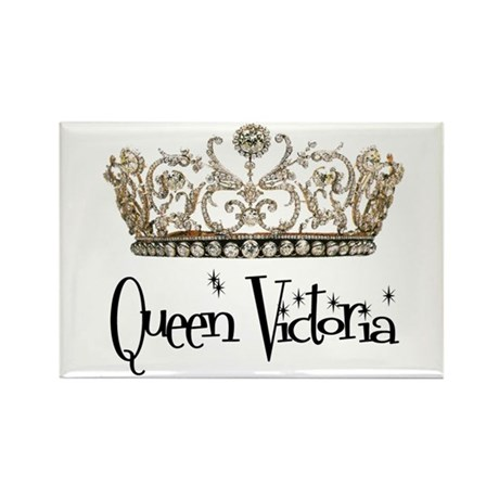 Queen Victoria Rectangle Magnet