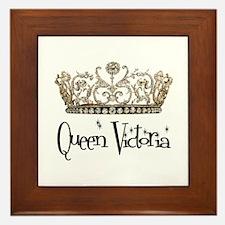 Queen Victoria Framed Tile