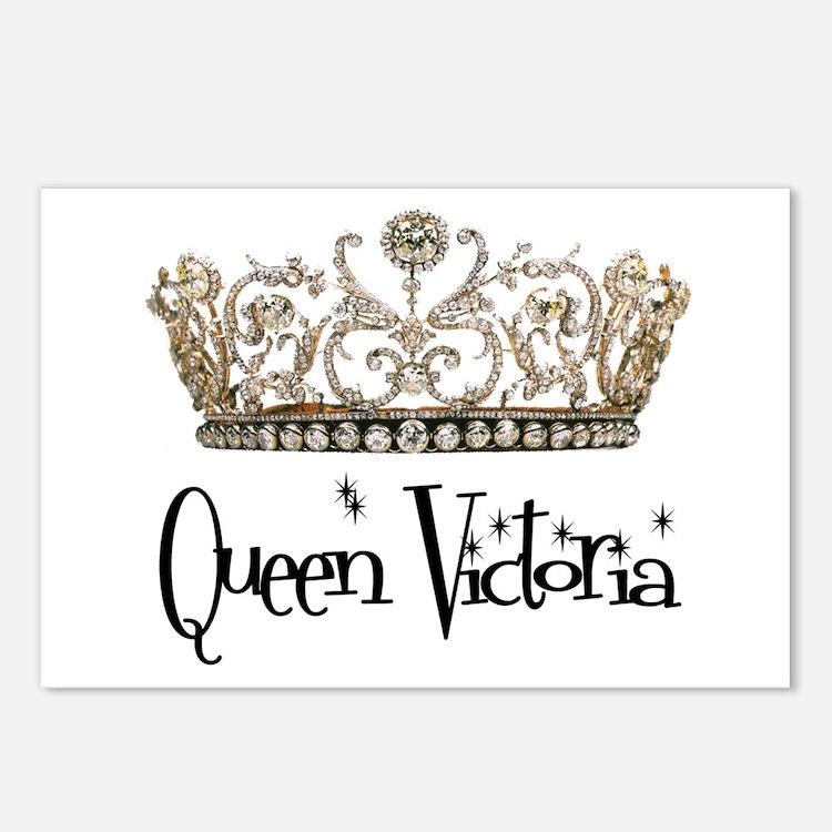 Queen Victoria Postcards (Package of 8)