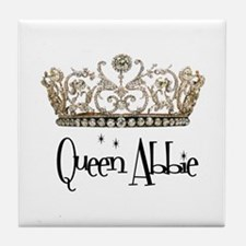 Queen Abbie Tile Coaster