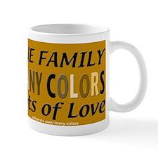 Many Color Carmel Bkgrnd Mug