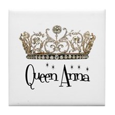 Queen Anna Tile Coaster