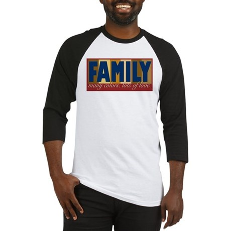 Family Color Baseball Jersey