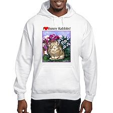 I love Bunny Rabbits Hoodie