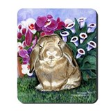 Bunny rabbit Mouse Pads