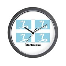 Martinique Flag Wall Clock