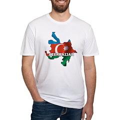 Map Of Azerbaijan Shirt