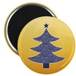 """Blue & Orange Seasonal 2.25"""" Magnet (10 pack)"""