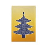 Blue & Orange Seasonal Rectangle Magnet (100 pack)