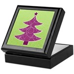 Purple & Green Seasonal Keepsake Box