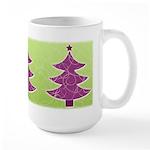 Purple & Green Seasonal Large Mug (15 oz)