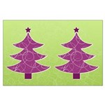 Purple & Green Seasonal Large Poster