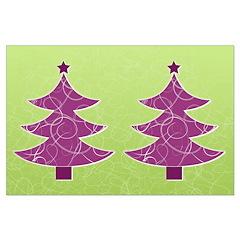 Purple & Green Seasonal Posters