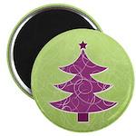 """Purple & Green Seasonal 2.25"""" Magnet (10 pack)"""