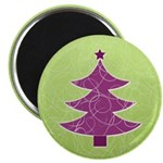 Purple & Green Seasonal Magnet