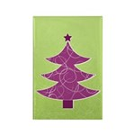 Purple & Green Seasonal Rectangle Magnet (100 pack