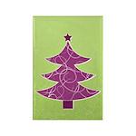 Purple & Green Seasonal Rectangle Magnet (10 pack)