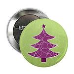 "Purple & Green Seasonal 2.25"" Button"