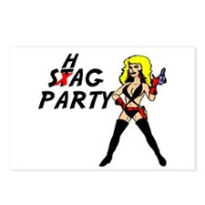 Stag Party Postcards (Package of 8)