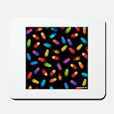 Pills square Mousepad
