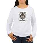 Vintage Colombia Women's Long Sleeve T-Shirt