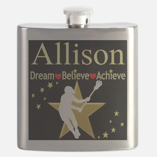 LACROSSE GIRL Flask
