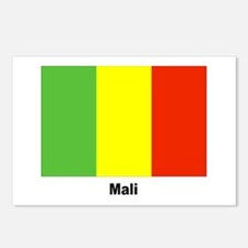 Mali Flag Postcards (Package of 8)
