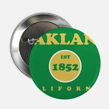 """Oakland 1852 2.25"""" Button"""