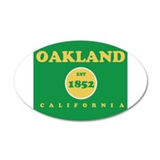 Oakland 1852 Wall Decal
