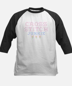 Cross Stitch Junkie Kids Baseball Jersey
