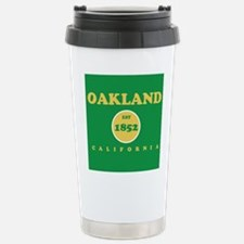 Oakland 1852 Stainless Steel Travel Mug