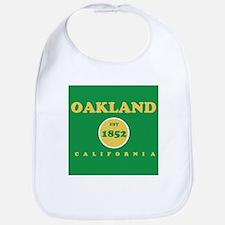 Oakland 1852 Cotton Baby Bib