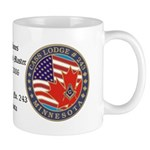 Personalized rtj Masonic Mug