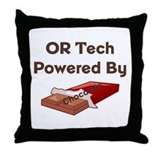 OR Tech Throw Pillow