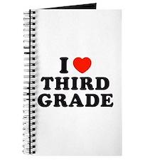 I Heart/Love Third Grade Journal