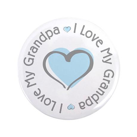 "Sweet I Love My Grandpa 3.5"" Button (100 pack)"