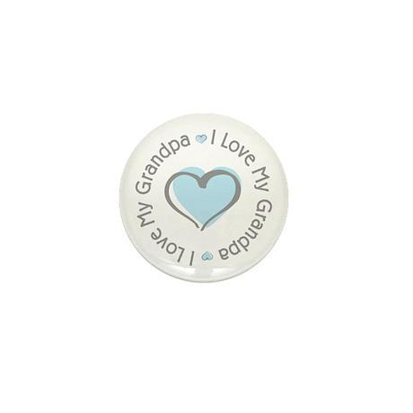 Sweet I Love My Grandpa Mini Button (10 pack)