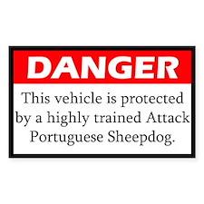 Attack Portuguese Sheepdog Decal