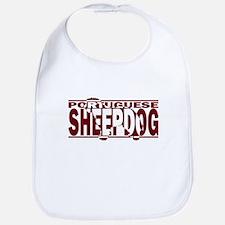 Hidden Portuguese Sheepdog Bib