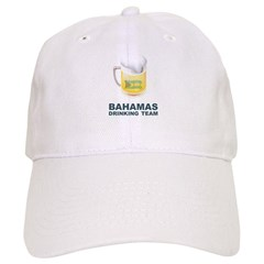 Bahamas Drinking Team Baseball Cap
