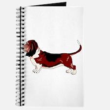 Funny Basset hound Journal