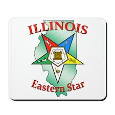 Illinois Eastern Star Mousepad