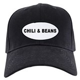 Chili bean Baseball Cap with Patch