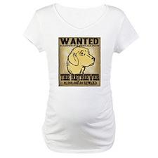 Wanted: The Golden Retriever Shirt